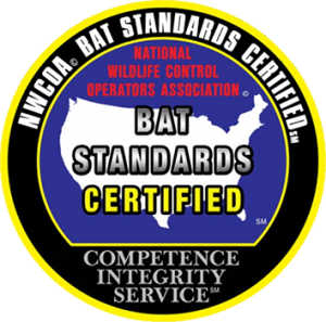 NWCOA Bat Standards Certified for Bat Removal and Exclusion