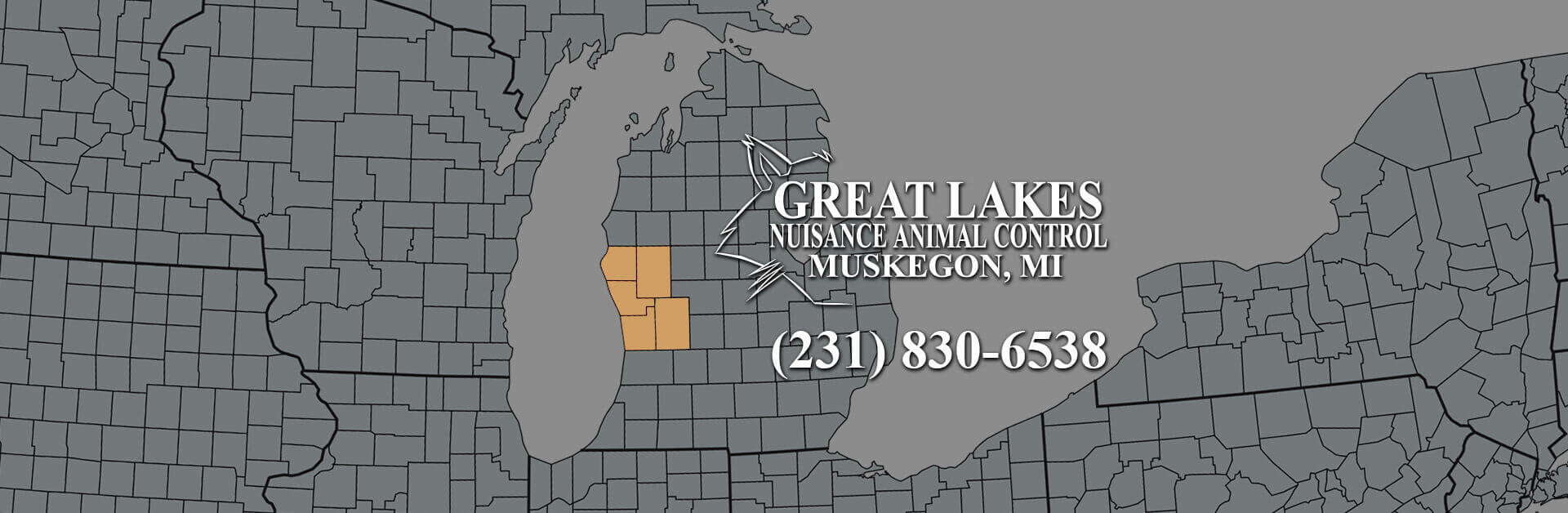 Our service area covers Muskegon, Ottawa, Oceana, Newaygo and Kent Counties